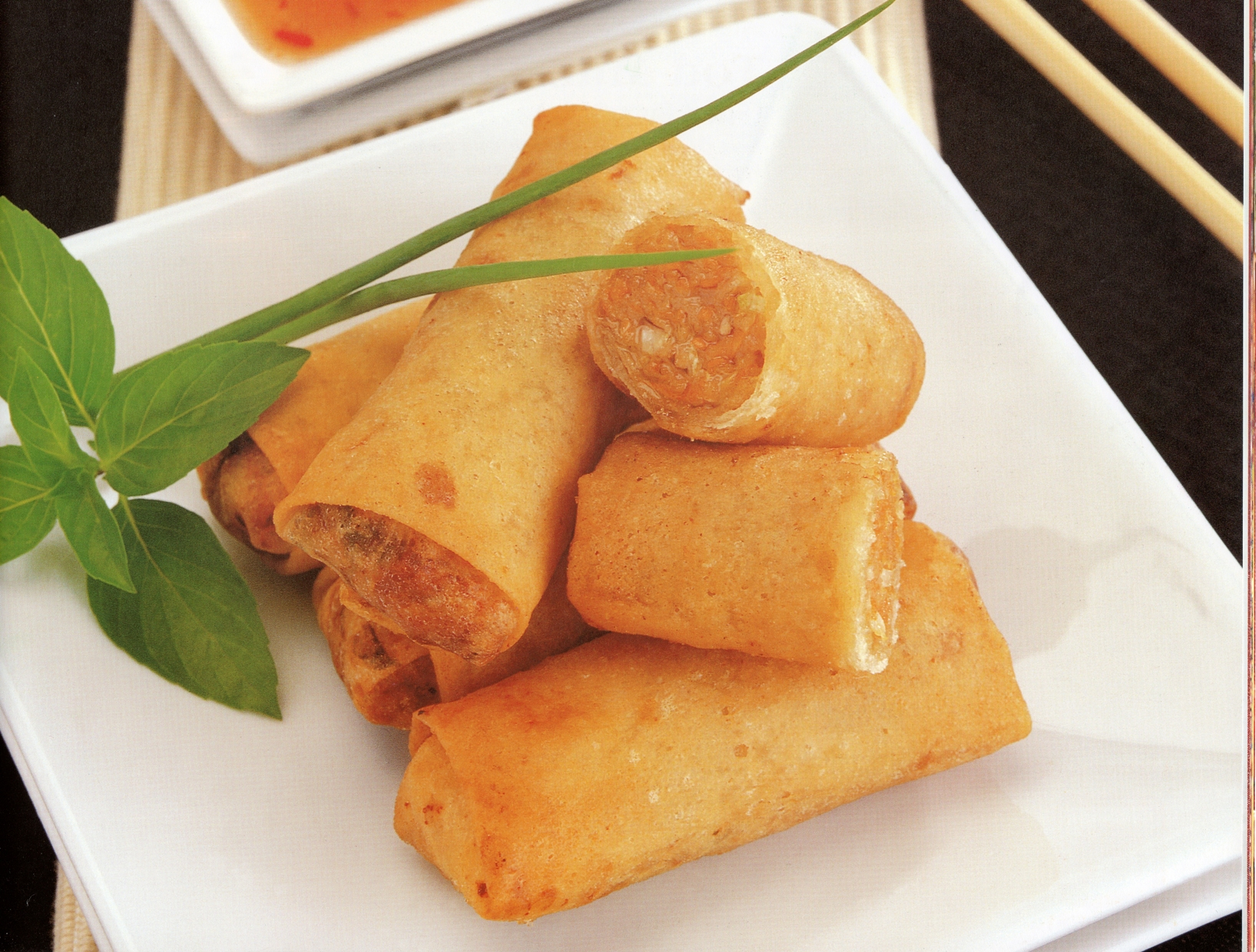 spring roll deep fried spring rolls hanoi fried spring rolls fried ...